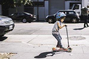 Sidewalk Cruising