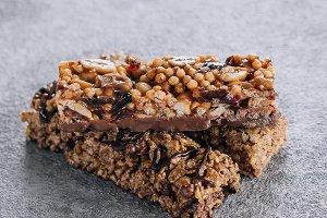 Granola bar  Healthy snack