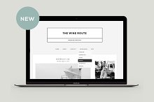 Responsive Blogger Template - Wine R
