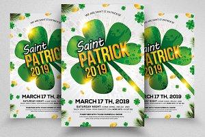 Saint Patrick's Day Flyer Templates