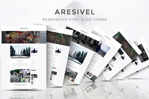 Aresivel - HTML5 Blog Template
