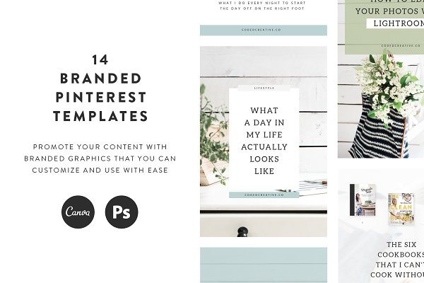 Magnolia Pinterest Templates