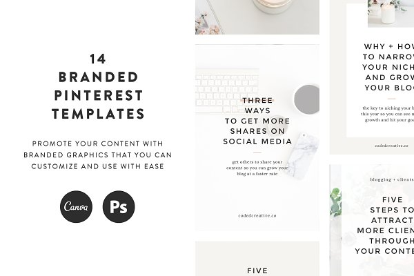 Bloom Pinterest Templates