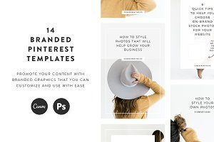 Studio Pinterest Templates