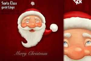 Santa Claus greetings