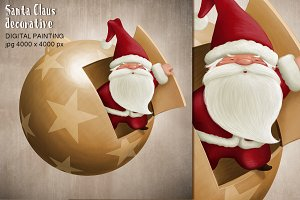 Santa Claus decorative