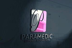Paramedic / P Letter Logo