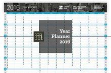 Year Planner 2016 (YP01)