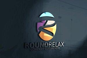 Round R Letter