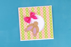 Diy Easter cards from paper. Volume