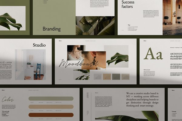 Presentation Templates: Elokka Std. - CHLOVIA-Powerpoint Brand Guidelines