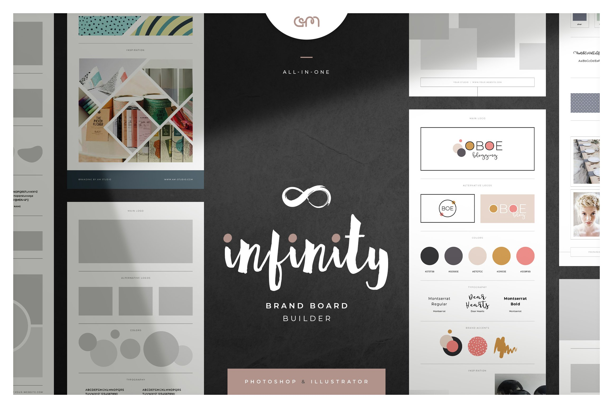 Infinity Brand Board Builder ~ Other Presentation Software Templates