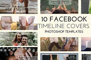 10 Facebook Templates Editable