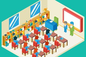 Education and school classroom