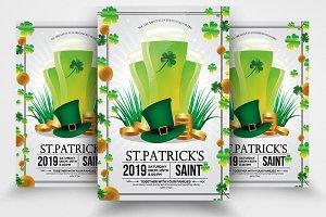 Saint Patrick's Psd Flyer Template
