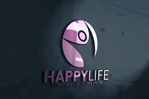 Happy Life Logo Discount % 25