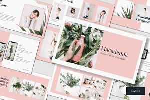 Macademia - Keynote Template