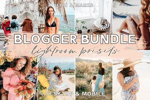 200+ Blogger Desktop Mobile Presets