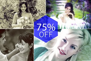 Wedding Style Photoshop Actions