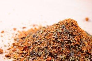 Mixed spicery heap