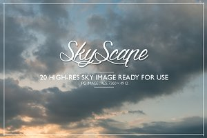 SKYSCAPE - 20 Hi-Res Sky images