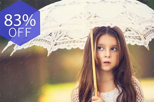 Make it Rainy Photoshop Actions