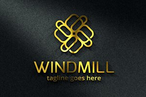 Windmill Abstract Logo Template
