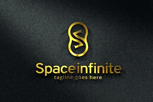 Space Infinite/ Letter S Logo