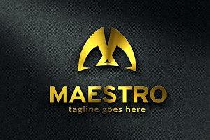 Maestro / Letter M Logo Template