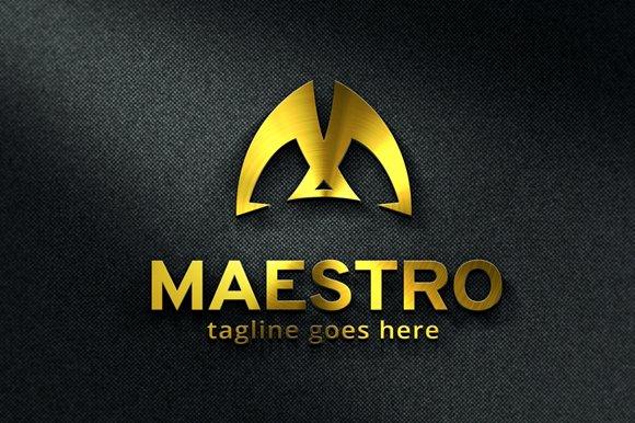 Maestro Letter M Logo Template Logo Templates