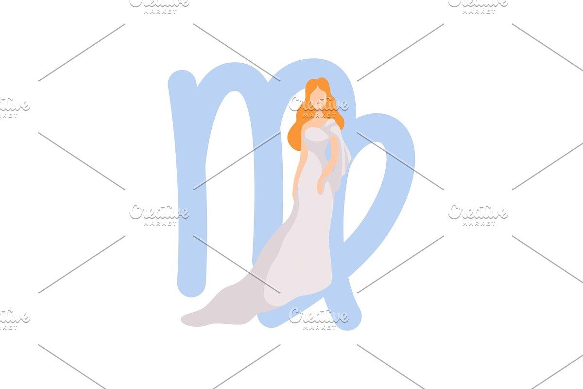 Virgo Zodiac Sign, Young Beautiful