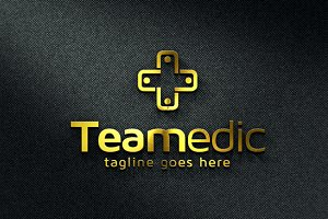 Medical Team Logo Template