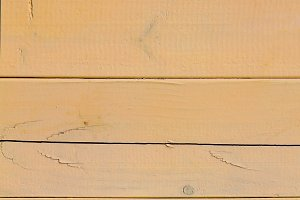 Yellow board of wooden slats (1)