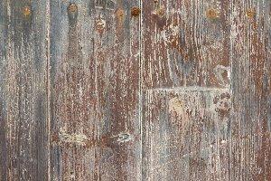 Brown board of wooden slats (3)