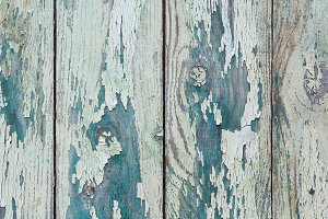Green board of wooden slats (7)