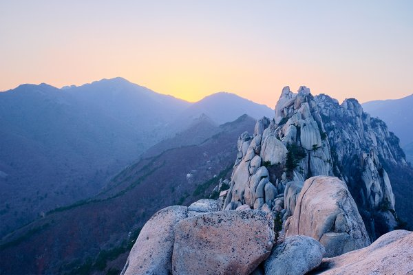 Nature Stock Photos: f9photos - View from Ulsanbawi rock peak on