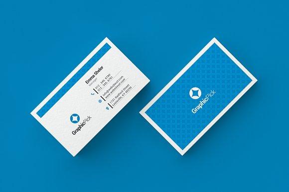Simple clean business card business card templates creative market colourmoves