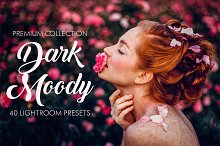Dark Moody Lightroom Presets by  in Add-Ons