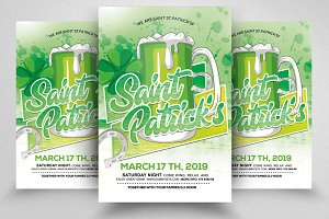 St. Patrick's Party Flyer Templates