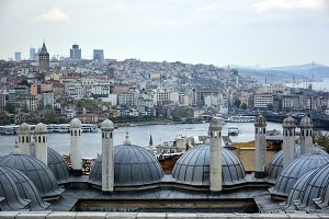 The heritage of the mosque istanbul