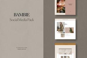 Bambie Social Media Pack