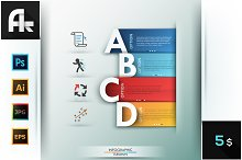 Infographic Options Template
