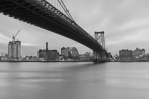 Williamsburg Bridge BnW