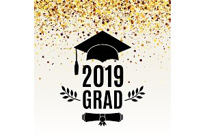 Graduate 2019 class of greeting card
