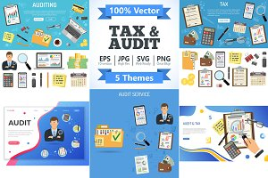 Auditing, Tax, Accounting Concepts