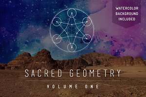 Sacred Geometry Vector Set Vol. 1