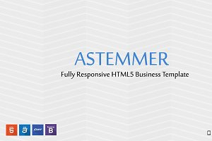 Astemmer HTML5 Responsive Business T