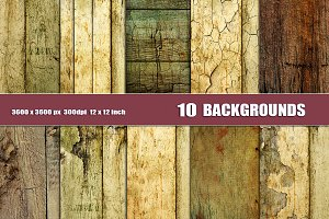 Grunge backgrounds overlays wood