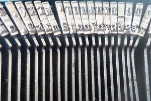 Vintage Typewriter Hammers