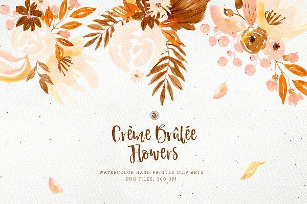 Creme Brulee Flowers